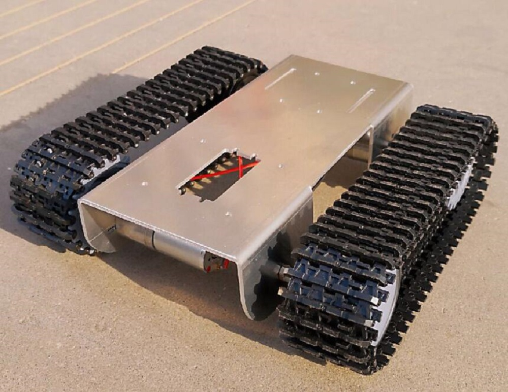 Smart Robot Tank Chassis Tracked Car Caterpillar With 2pcs 12V Motor For Arduino 51 Raspberry Pi DIY Project Parts