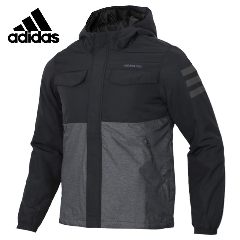 Original Adidas M PADDED JKT Mens Black Coat Hiking Outdoors Down Sportswear DM2198
