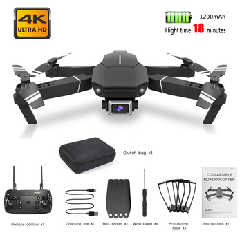 цена на FPV Rc Drone 4K HD Camera WIFI 1080P Wide angle video Remote Mini Quadcopter Professional  Selfie Folding Drone for Beginners