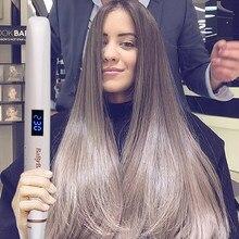 Professional Hair Straightener Curler Flat Iron Negative Ion