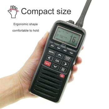 Marine Radio RS-38M With GPS VHF  IP67 Waterproof Float Walkie Talkie Tri-watch 156.025-157.425MHz Transceiver two way radio - discount item  15% OFF Walkie Talkie