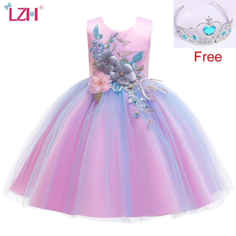 flor meninas vestido de casamento traje de natal criancas vestido de festa a noite vestidos para