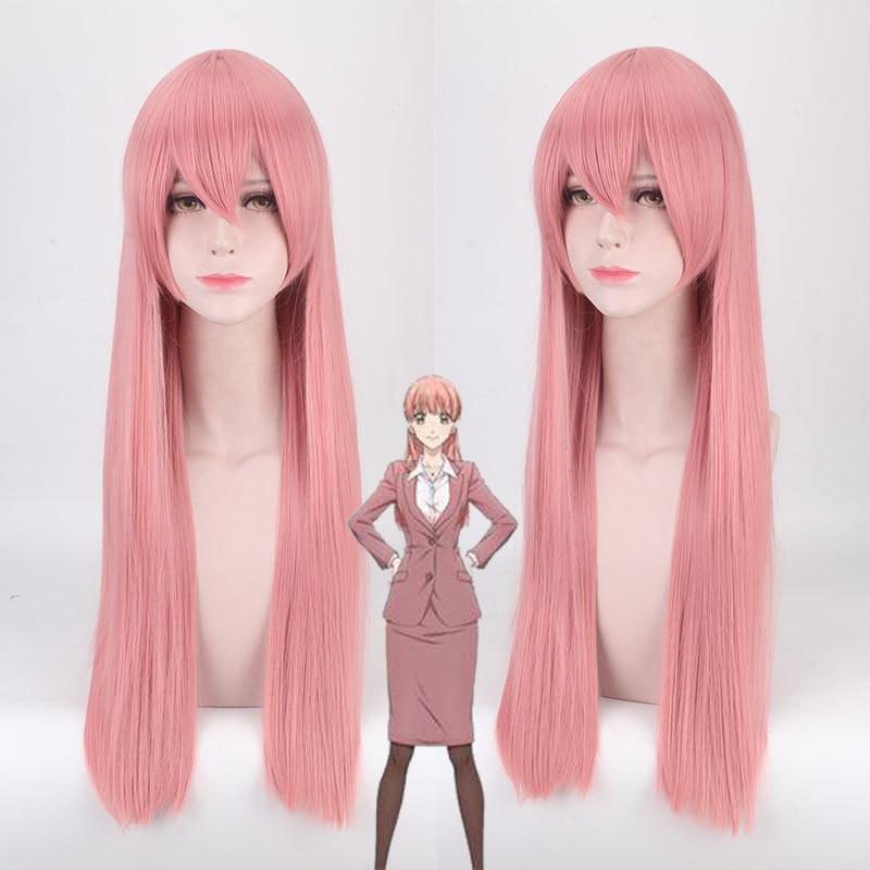 Narumi Momose Cosplay Wigs Wotaku Ni Koi Wa Muzukashii It's Difficult To Love An Otaku, WotaKoi, Love Is Hard For Otaku+ Wig Cap