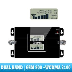 Image 2 - Amplificador de señal de doble banda 2G 3G GSM 900, WCDMA 2100, repetidor móvil, teléfono celular, comunicación por voz