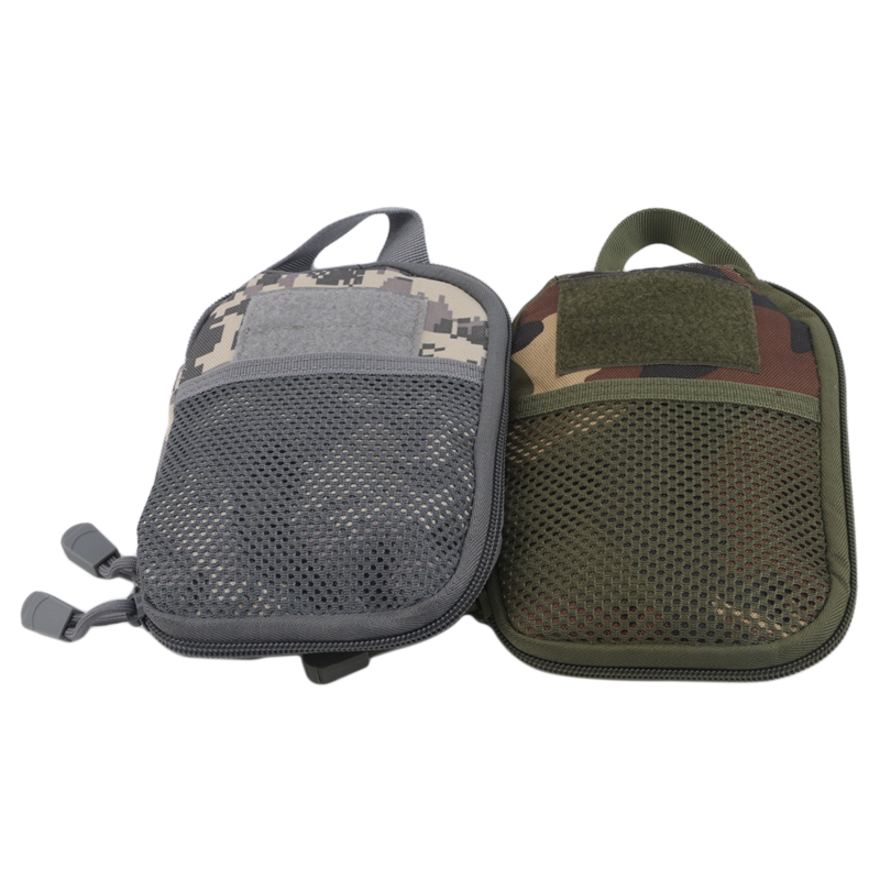 Outdoor Wearable Anti-Tear Camping Pockets Kit Bag Small Tactical Package Waist Belt Bags Phone Backpack Accessories