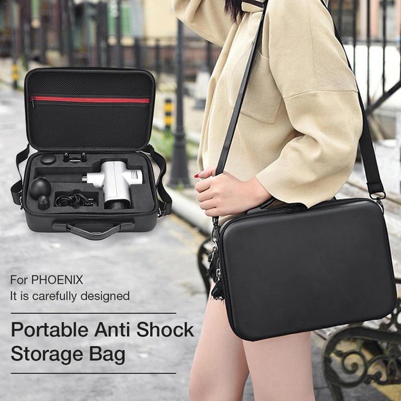 AMS-Портативный ручка сумка чехол для Hyperice Hypervolt лицевой массажер Водонепроницаемый Защита от царапин противоударной защитной плёнки для аксессуары