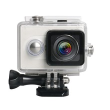 For Yi Sports Action Camera Waterproof Underwater Diving Housing Case 40M(White)(China)