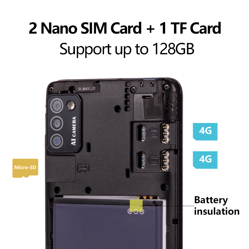 Cubot Note 7 Smartphone Triple Camera 13MP 4G LTE 5.5 Inch Screen 3100mAh Android 10 Dual SIM Card mobile phone Face Unlock-2