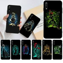 HPCHCJHM Snow White Alice Little Mermaid Coque Shell Phone Case for Huawei Honor 30 20 10 9 8 8x 8c v30 Lite view pro hpchcjhm caravaggio the soul and the blood phone case cover shell for huawei honor 30 20 10 9 8 8x 8c v30 lite view pro