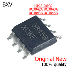 10 PIÈCES UC3842A UC3843A UC3843B UC3845B SOP8 UC3842 UC3843 UC3845 SMD IC nouvelle et originale Chipset
