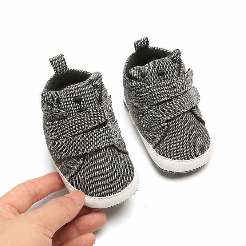 Boys Girls Clothes Cotton First Walker Newborn Baby Shoes Sneakers Anti-slip Soft Sole Toddler Sneaker