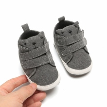 Boys Girls Clothes Cotton First Walker Newborn Baby Shoes Sn