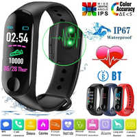 Fitness Bracelet with Blood Pressure/Blood Oxygen/Hear Rate Monitor/Waterproof Smart Band for huawei honor xiaomi