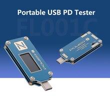 ChargerLAB POWER Z tester de USB PD cargador de voltaje medidor de corriente banco de energía Detector FL001C