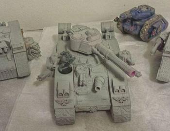 Interplanetary Imperial Army Tanks Custom order digital models 3D printing service Imaginary objects Fantasy ST4502 фото