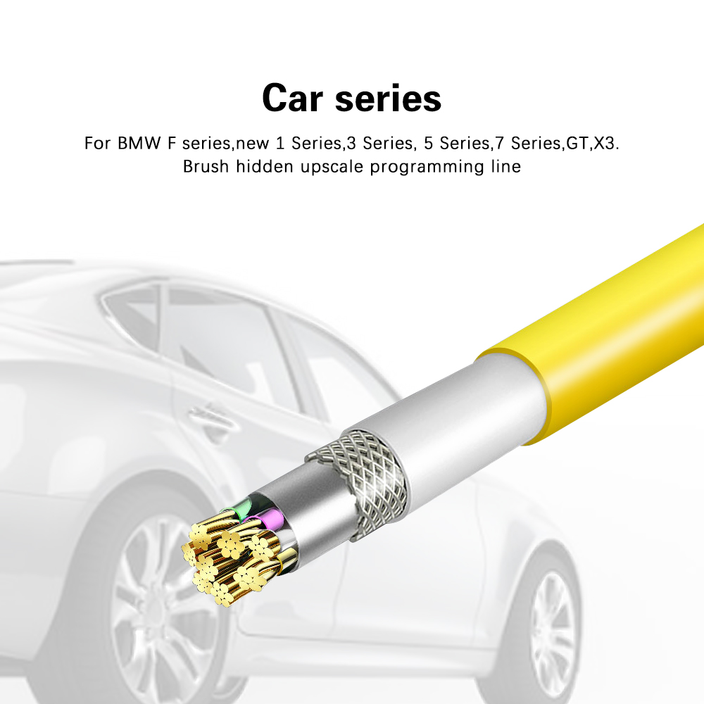 Ethernet To OBD2 Diagnostic Data Cable E-SYS ICOM ENET Coding Cable For BMW F Series Car OBD Scan Tools
