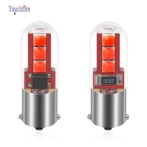 Image 3 - 100 adet BA9S T4W H6W 12V 3030LED 3535SMD Lens ile ampuller araba ters ışıkları otomatik park plaka iç harita dome lambaları