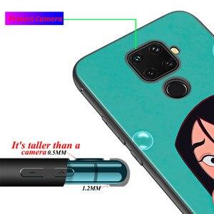 Image 4 - Soft Cover Disney Mulan Princess For Huawei P Smart 2021 2020 Z S Mate 40 RS 30 20 20X 10 Pro Plus Lite 2019 Phone Case