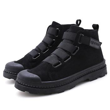 Buty męskie dorosłe botki na buty wojskowe pluszowe ciepłe męskie buty zimowe buty męskie trampki zimowe buty męskie 39 S męskie buty tanie i dobre opinie yadibeiba Podstawowe CN (pochodzenie) Futro ANKLE Stałe Krótki pluszowe Okrągły nosek RUBBER Zima Niska (1 cm-3 cm)