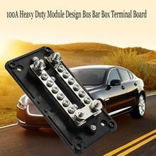 Сверхмощный модульный дизайн, коробка для автобусной шины, Клеммная панель для автомобилей, домов на колесах, грузовиков, лодок, блок распре...