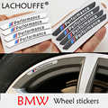 Car Decal Sticker Wheels Rims Racing Car Sticker Performance For BMW e46 e90 e60 e39 f10 f30 e36 f20 e87 x5 e70 e30 e92 g30 e34