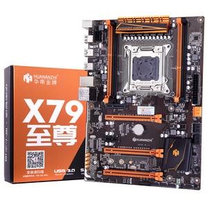 Image 2 - 有名なブランドhuananzhiデラックスX79 マザーボードM.2 スロットcpuインテルxeon E5 1650 V2 クーラーram 32 グラム (4*8 グラム) 1600 reg ecc