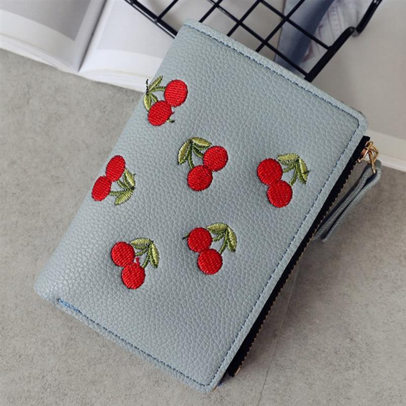 Coin Pouch Colorful Summer Floral Pattern Canvas Coin Purse Cellphone Card Bag With Handle And Zipper