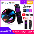 H96 MAX X3 Android 9...