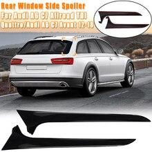 Alerón trasero para ventana Kit de ajuste Exterior para Audi A6, C7, Allroad, TDI, Quattro/para Avant, años 2012 a 2018