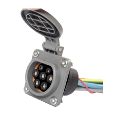 EV Charger Type 2 Socket for EV charging Station with 0.5 Meters Cable 32A or 16A