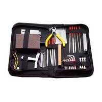 Instrument Maintenance Guitar Repair tools Cleaning Tech Tool Kit for Guitar Bass Parts Guitar Repairing Tool Kit Accessories