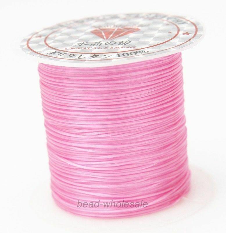 393 дюйма/рулон, крепкий эластичный шнур для бисероплетения с кристаллами, 1 мм, для браслетов, стрейчевая нить, ожерелье, сделай сам, для изготовления ювелирных изделий, шнуры, линия - Цвет: Color 16