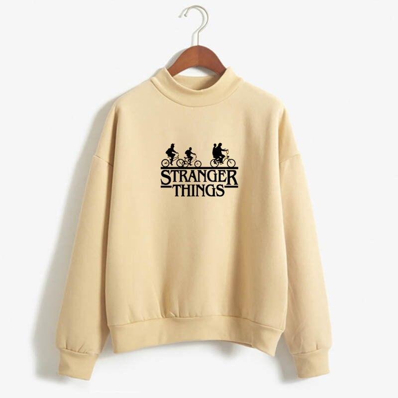 Stranger Things Official Television Series Men's Solid Logo Sweatshirt  Unisex STRANGER THINGS Hoodie - Stranger Things 6