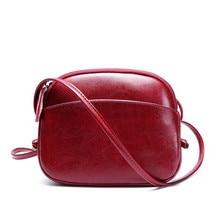 FoxTail و زنبق المرأة حقيبة ساعي جلد طبيعي قذيفة صغيرة حقيبة Vintage حقيبة كتف حقائب سيدات فاخرة محفظة حقائب النساء