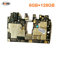 Ymitn мобильная электронная панель F1 Материнская плата разблокированная с чипами схемы для Xiaomi Pocophone Poco F1 6GB 128GB