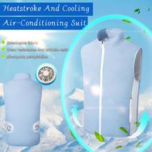 Новый вентилятор usb Охлаждающий походный жилет для рыбалки