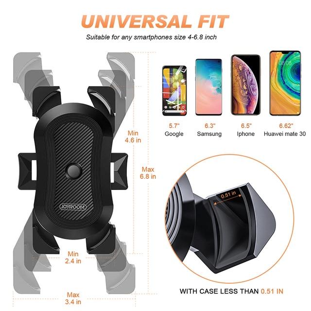 Bike Phone Holder Universal Motorcycle Bicycle Phone Holder Handlebar Stand Mount Bracket Mount Phone Holder For iPhone Samsung 3