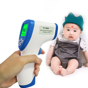 Upgraded Electronic Thermometer Infrared Non-contact Forehead Body Surface Thermometer Home Thermometer Standard Color Random
