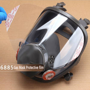 3M RESPIRATOR Dust-Mask Windows-Protective-Film 6885 5/10/15-/.. Lens-Cover Use-For