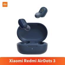 Oryginalny Xiaomi Redmi AirDots 3 słuchawki hybrydowy wokalizm bezprzewodowy Bluetooth 5.2 Mi prawdziwy bezprzewodowy zestaw słuchawkowy jakość dźwięku na poziomie CD