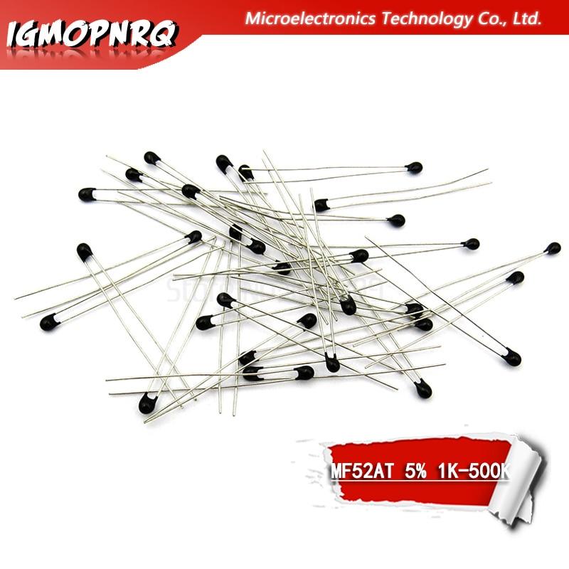 20pcs NTC-MF52AT MF52AT B 3950 5% NTC Thermistor Thermal Resistor 1K 2K 3K 4.7K 5K 10K 20K 47K 50K 100K 5%