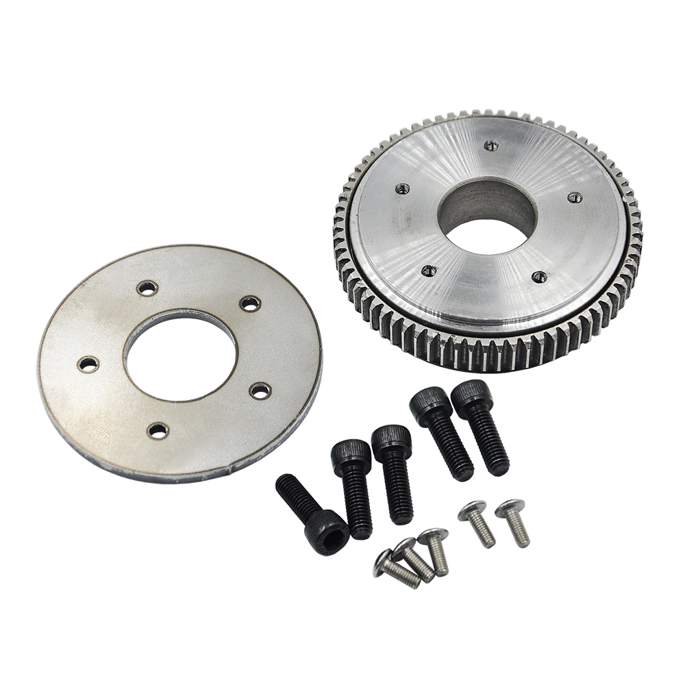Upgrade Big Rotary Gear Plate Slewing Gear For HUINA 580 23 Channel Excavator 1:14 RC Metal Excavator Parts