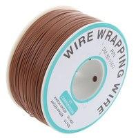 O pvc de brown revestiu o cabo de cobre chapeado da lata que envolve o carretel do cabo do fio 305m 30awg