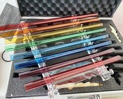Regenbogen farbe kristall singen harfe perfekte pitch 5th oktave CDEFGABC6 432HZ für sound theraphy.