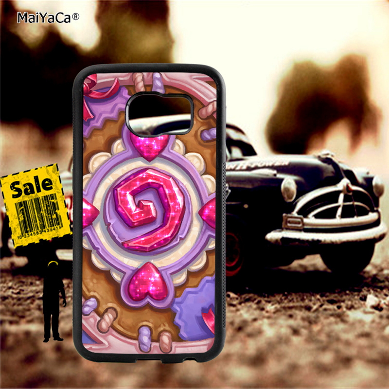 stone card backs images soft TPU edge phone cases for samsung s6 edge plus s7 edge s8 s9 s10 plus lite e note8 note9 case in Half wrapped Cases from Cellphones Telecommunications