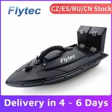 Радиоуправляемая лодка Flytec 2011-5 рыболокатор лодка 1,5 кг 500 м с дистанционным управлением рыболовная приманка лодка корабль скоростная лодка ...
