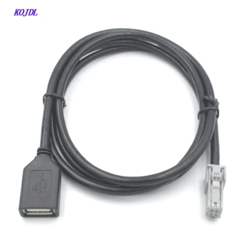 Latest Car USB cable Adapter Conector Audio cable INPUT to Media CD player For new Toyota Camry Toyota Avalon Latest Corolla yatour car mp3 usb sd cd changer for ipod aux with optional bluetooth for toyota 4runner tundra avalon avensis camry corolla