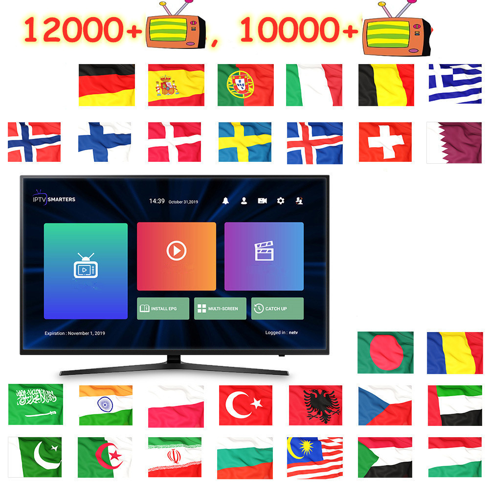 X96 MINI ANDRIOD TV BOX OTT Plus Smart TV PC Android TV Europe Canada France Uk Netherlands Turkey tv m3u TV box only no box