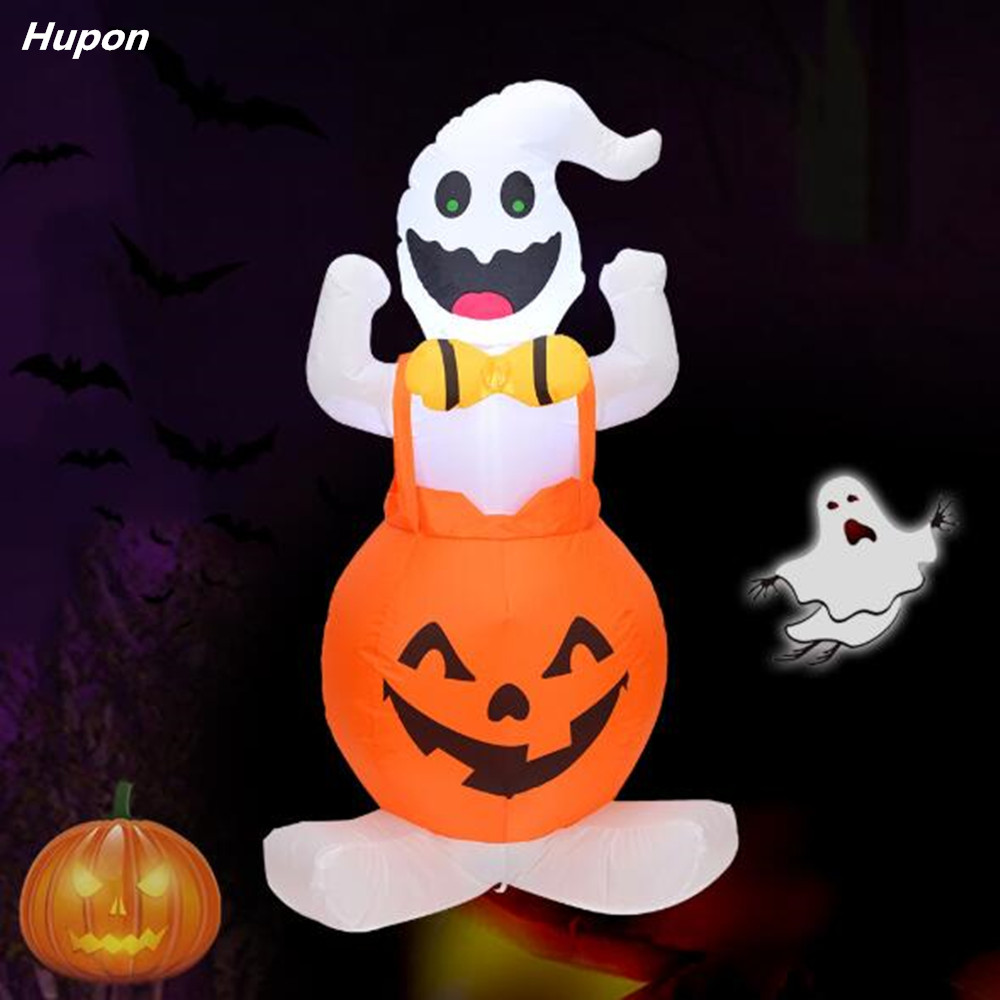 120cm Giant Halloween Inflatable Toys Outdoor Yard Decorations for Home House Ghost Scary Halloween Festival Party Supplies