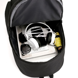 Image 4 - Ajax estudante escola mochila adolescente meninos bookbag usb anti roubo portátil lona impermeável mochila para homem